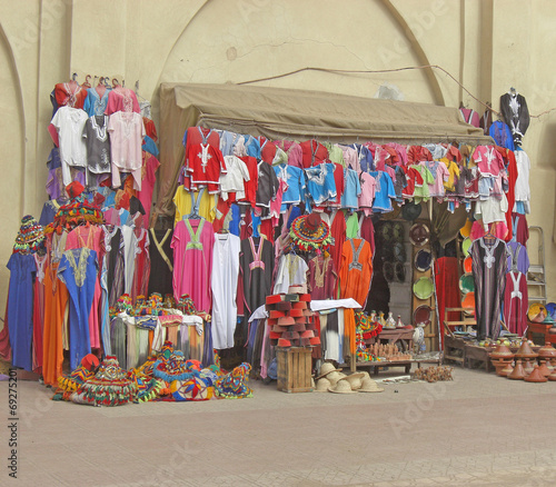 Printed kitchen splashbacks Indians Marrakech