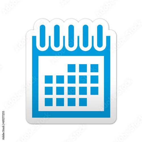 Simbolo De Calendario.Pegatina Simbolo Calendario Buy This Stock Illustration