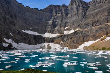 Iceberg Trail in Glacier National Park, Montana, USA