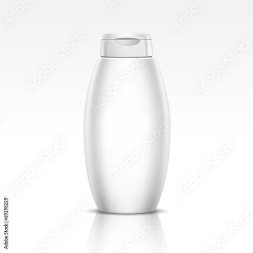 Fotografie, Obraz  Bottle for Shampoo Shower Gel or Liquid Soap