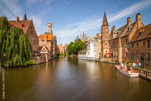 Poster Brugge Bruges