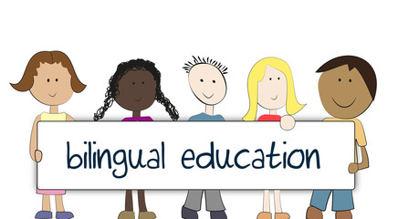 Fototapetabilingual education