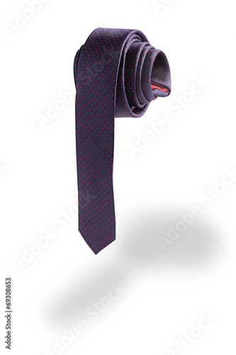 Fotografie, Obraz  Necktie in the shape of a penis isolated on white background