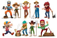 Farmers And Lumberjacks