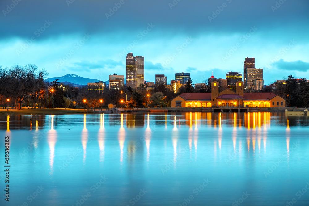 Fototapeta Downtown Denver, Colorado