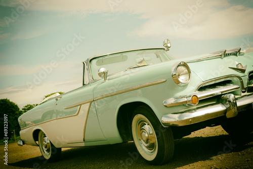 Photo  amerikanisches Automobil Retro-Stil