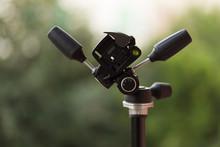Closeup Of Tripod Camera Head ...