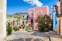 Lipari Old Town Streets