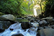 Rapids At La Fortuna Waterfall, Alajuela Province, Costa Rica