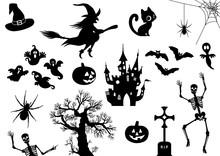 Halloween, Icon, Piktogramm, S...