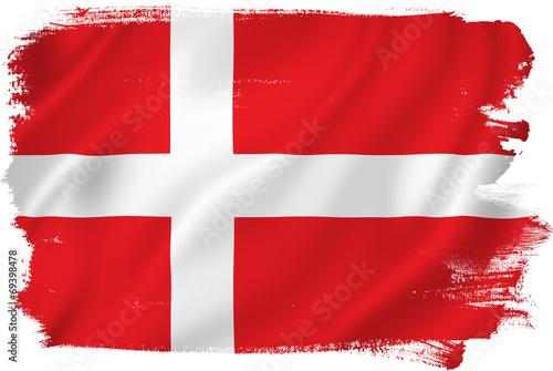 Photo  Denmark flag
