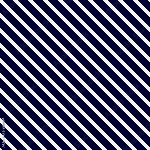 Valokuva  Navy Blue and White Striped Pattern Repeat Background
