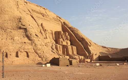 Fotografia, Obraz  The Great Temple of Ramesses II. Abu Simbel, Egypt.