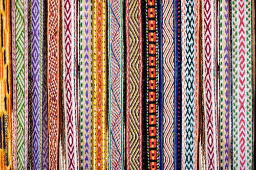 Canvas Prints Eastern Europe Detail of a traditional Lithuanian weave