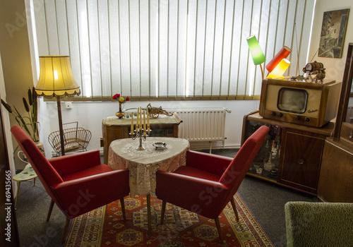 Photo  DDR - Wohnzimmer
