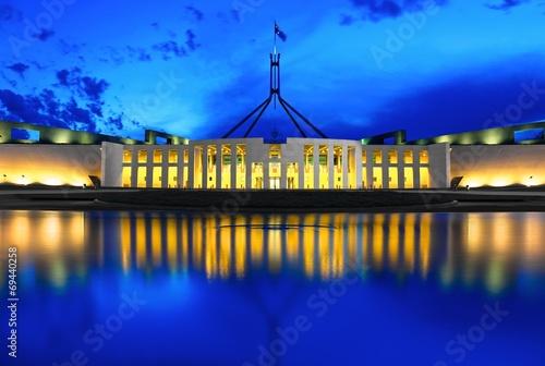 Fotografia  Parliament & Blue Hour