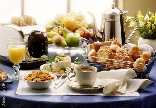 Fototapeta continental breakfast obraz