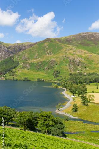 Fototapety, obrazy: Buttermere Lake District Cumbria England uk