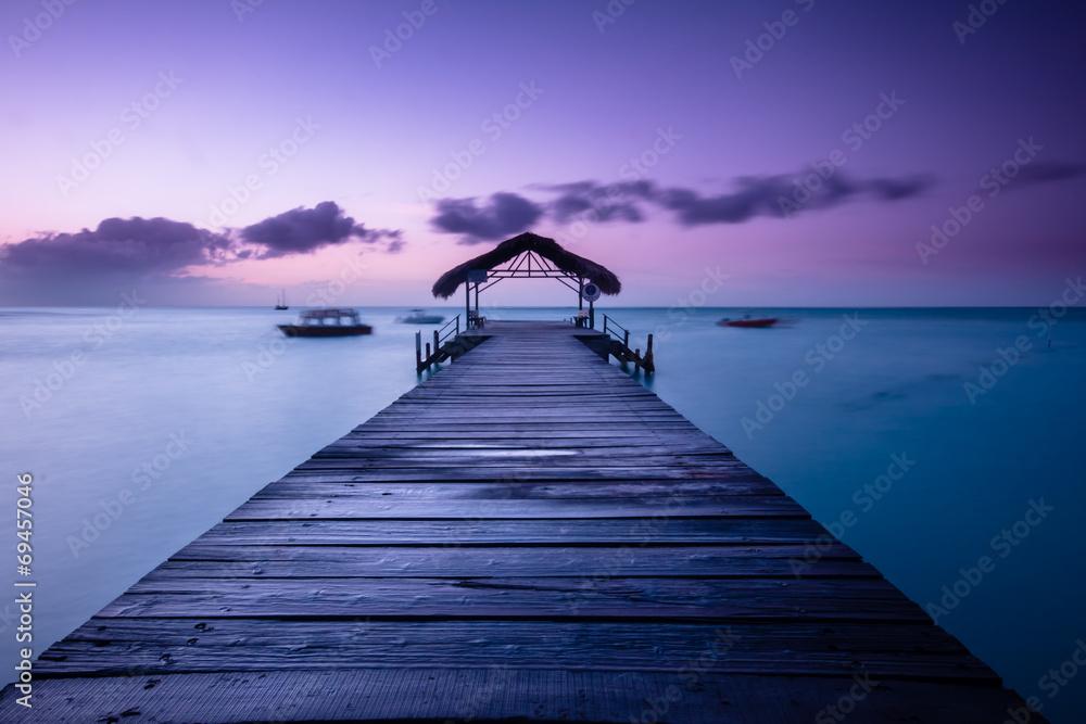 Fototapeta Pigeon Point, Trinidad & Tobago