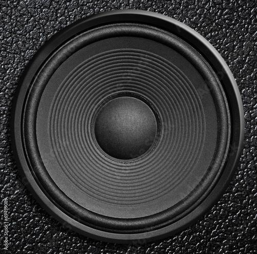 Fotografía  Audio speaker