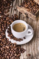 Panel Szklany Do kawiarni caffè espresso