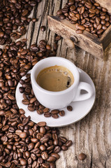 Fototapeta Do kawiarni caffè espresso