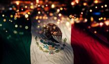 Mexico National Flag Light Nig...