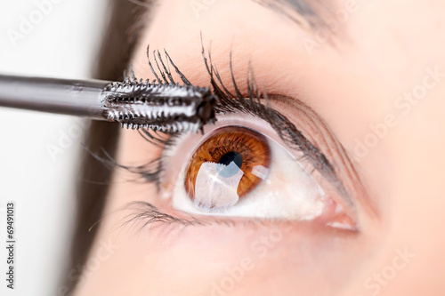 Maquillaje de ojos Canvas Print