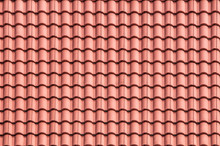Roof Tile In Terracotta Color
