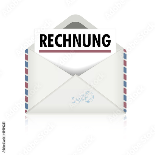 Brief Rechnung - Buy this stock vector and explore similar vectors ...