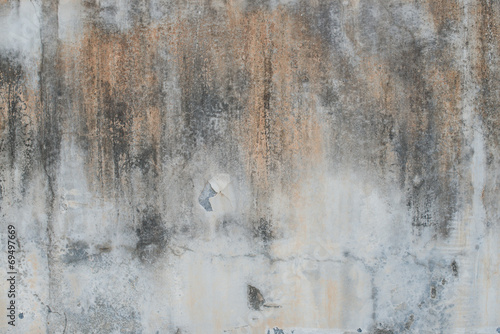 Grunge concrete cement rough wall in industrial building