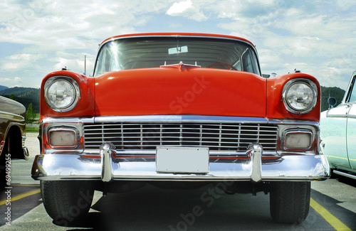 1956 Chevy Nomad Wagon Canvas Print