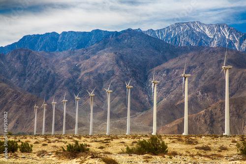 Zdjęcie XXL Farma wiatrowa w Palm Springs