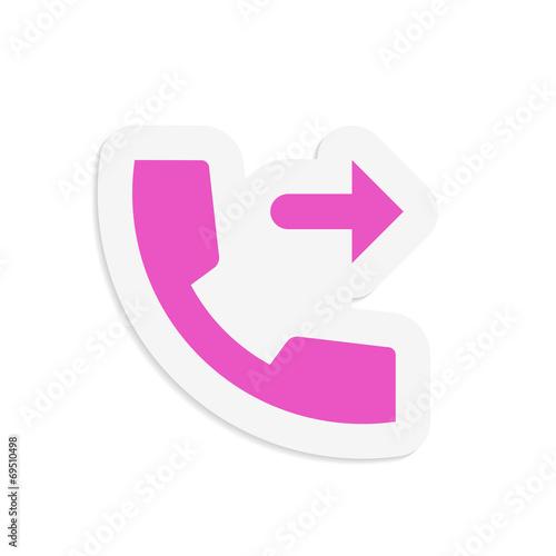 Fotografia, Obraz  Outgoing call