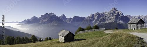 Foto  wandern am karnischen höhenweg in Südtirol - Dolomiten