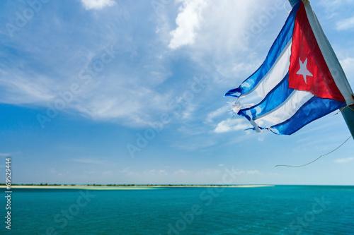 Fotografie, Tablou Cuban flag