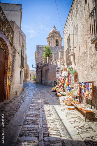 Fotografie, Obraz  Erice-Trapani-Sicilia