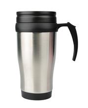 Aluminum Thermos Mug Isolated ...