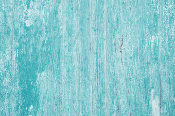 Altes Holz in türkis blau als Hintergrund