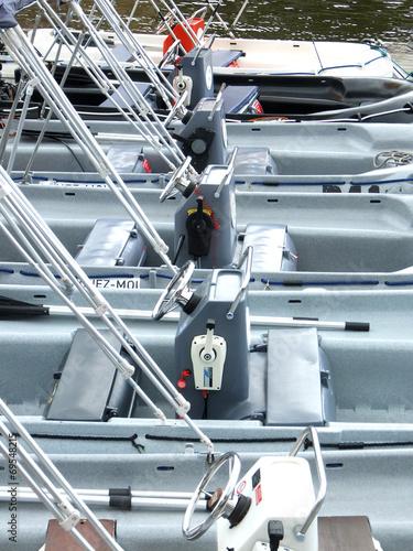 Fotografie, Obraz  bateaux sans-permis