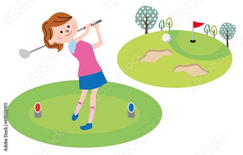 Valokuva  ゴルフ