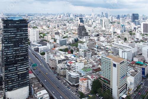 Bangkok City top view Poster