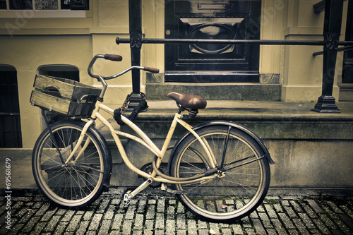 Fotobehang Fiets an old bicycle