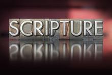 Scripture Letterpress