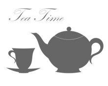 Teapot And Tea Cup