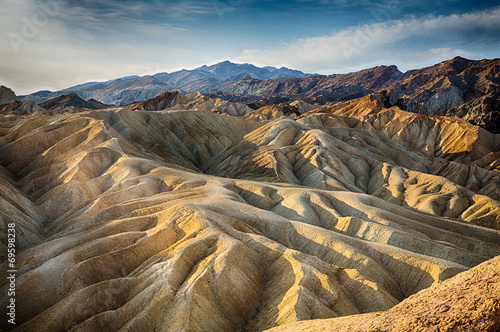 Tuinposter Canyon Sunrise over Zabriskie Point