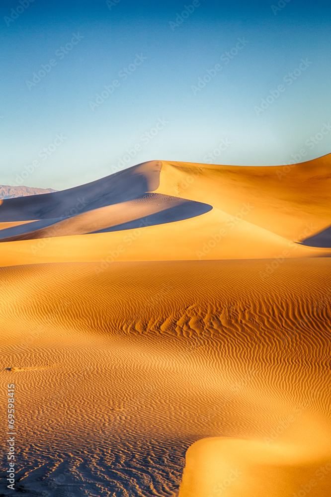 Fototapety, obrazy: Death Valley Dunes - pustynia