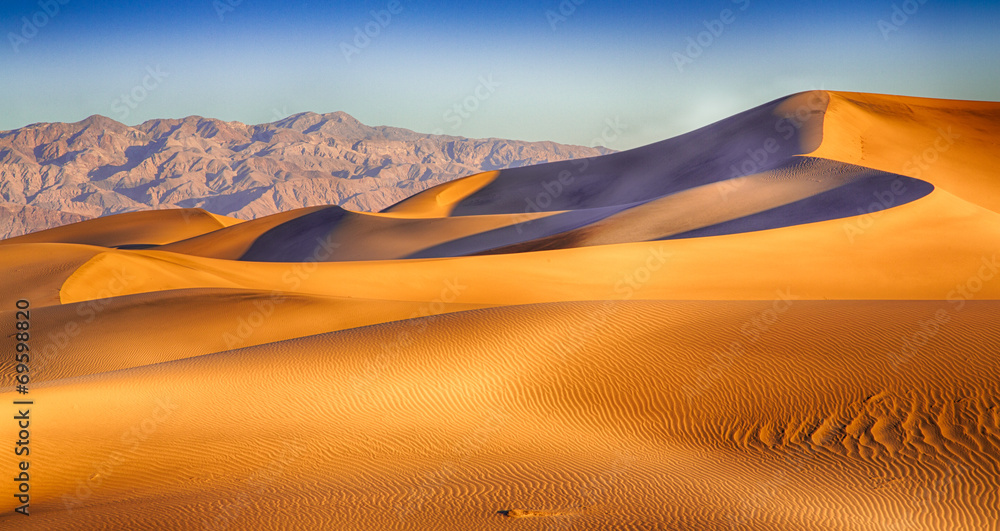 Fototapety, obrazy: Death Valley Dunes
