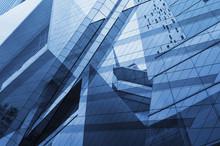 Glass Of Modern Tower