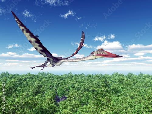 Pterosaur Quetzalcoatlus - 69611023